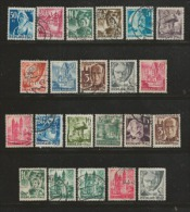 RHEINLAND -PFALZ 1947, Cancelled Stamp(s) 22 Famous People 1=41, #16029 - American,British And Russian Zone