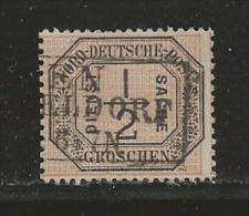 NORDDEUTSCHER POSTBEZIRK, 1870 Cancelled Stamp(s) Dienstmarke D3, # 16032 , 1 Values Only - Norddeutscher Postbezirk