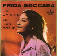 * LP *  FRIDA BOCCARA - LES MOULINS DE MON COEUR (Poland 1969) - Vinylplaten