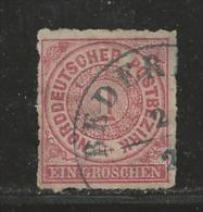 NORDDEUTSCHER POSTBEZIRK, 1866 Cancelled Stamp(s) First Issue, 1 Groschen  , MI 4 # 16042 - North German Conf.