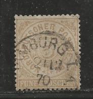 NORDDEUTSCHER POSTBEZIRK, 1869, Cancelled Stamp(s), 5 Groschen, MI 18 # 16052, - North German Conf.