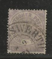 NORDDEUTSCHER POSTBEZIRK, 1869, Cancelled Stamp(s), 1/4 Groschen, MI 13 # 16053, - North German Conf.