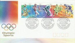 Australia 2000 Olympic Sports FDC - Ersttagsbelege (FDC)