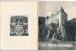 La Voute_Polignac    20 Pages  1954      14.5 Cm  X  19  Cm - France