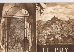 Le  Puy  André  Chanal  1952   16 Pages   15 Cm X 20 Cm - France