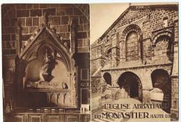 Monastier     église 18   Pages    14cm X 19 Cm   1938 - France