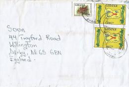 Ghana 2005 Ho AIDS HIV Health Synodontis Freshwater Fish Cover - Ghana (1957-...)