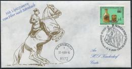 1989 Austria Barnbach Lipizzanern Lipizzan Horse Cover - Horses