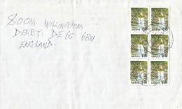 Ghana 2000 Suanem Boti Waterfalls Cover - Ghana (1957-...)