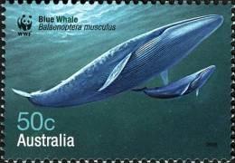 2006. AUSTRALIAN DECIMAL. Fauna (Cetaceans). WWF - Whales Down Under. 50c. Blue Whale. FU. - 2000-09 Elizabeth II