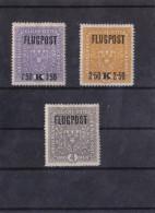 1918 FLUGPOST -SATZ **