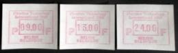 ATM Flanders 89 SERIE B Papier RRR! ( OPLAGE. 1 ! ) - Frankeervignetten