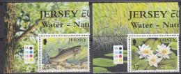 Europa Cept 2001 Jersey 2v(corner+traffic Lights) ** Mnh  (15885) - Europa-CEPT