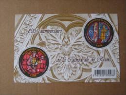 2011   F4549 **  NO YV 4549/4550 BLOC    CATHEDRALE DE REIMS SOUS FACIALE - Neufs