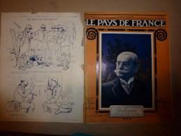 1915 JOURNAL De GUERRE (Le Pays De France):Tolmino;Indiens à Rouen;Berry-au-Bac;Volontaires D'aviation;Lemnos;Mytilène - Français