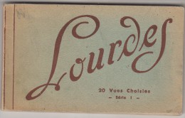 Lourdes  Carnet De 20 CPA Complet - Lourdes