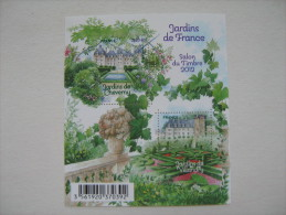 2011   F4580 **  NO YV  4580/4581  JARDINS DE FRANCE CHEVERNY SOUS FACIALE - Neufs