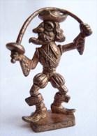 Rare FIGURINE KINDER  METAL PIRATE GROTESQUE 6 - U-EI Piraten - Figurines En Métal