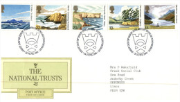 (7654) UK FDC Cover  - 1981 - National Trust - FDC