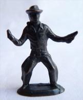 Rare FIGURINE KINDER  METAL COW BOYS 3 70's - U-EI Cowboys (1) - Figurines En Métal