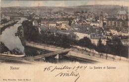 Namur - La Sambre Et Salzinne - Nels Couleur Série 16, N° 2 - 1904 - Namur