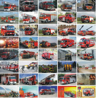 A04388 China Phone Cards Fire Engine Puzzle 160pcs - Firemen