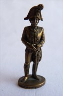 Rare FIGURINE KINDER  METAL PRUSSIENS 3 70's - SOLDATS NAPOLEONIENS OFFICIER (1) Offizier Prussien - Figurines En Métal