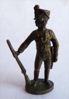 Rare FIGURINE KINDER  METAL PRUSSIENS 5 70's - SOLDATS NAPOLEONIENS SOLDAT Jäger Prussien - Metal Figurines