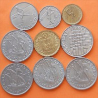 PORTUGAL        9 COINS  -  (Nº08036) - Kilowaar - Munten