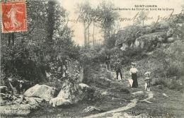 87 SAINT-JUNIEN LES SENTIERS DE COROT AU BORD DE LA GLANE ANIMES