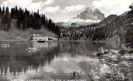 LAGO DI MISURINA 1950 - FORMATO PICCOLO - C658 - Belluno