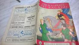 ENCICLOPEDIA DEI RAGAZZI N.  166 23/2/37 COLONIE INGLESI IN AFRICA/ CORSE DI FONDO E CON OSTACOLI - Enciclopedie