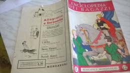 ENCICLOPEDIA DEI RAGAZZI N.  14 24/1/35 L'INFERNO DI DANTE/ FILASTROCCA SENESE E PISTOIESE/ PIANTA PER LA SCUOLA - Enciclopedie