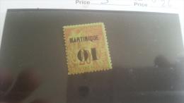 LOT 218811 TIMBRE DE COLONIE MARTINIQUE NEUF* N�3 VALEUR 26 EUROS