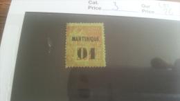 LOT 218813 TIMBRE DE COLONIE MARTINIQUE NEUF* N�3 VALEUR 26 EUROS