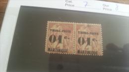 LOT 218815 TIMBRE DE COLONIE MARTINIQUE NEUF* N�7