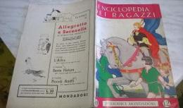 ENCICLOPEDIA DEI RAGAZZI N.20 7/3/35 ETRURIA E POMPEI/ LA GERMANIA/ FILASTROCCHE SENESI, VENETA - Encyclopédies