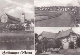 Breitungen / Werra,Blick Zur Burg, Gebrauchsspuren Am Rand - Schmalkalden
