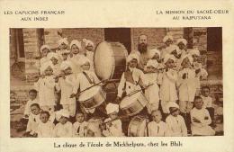 AK INDIEN INDIA  Rajputana MISSIONEN MISSION ,LES CAPUCINS FRANCAIS AUX INDES  MICKHELPURA ALTE POSTKARTE - Missionen