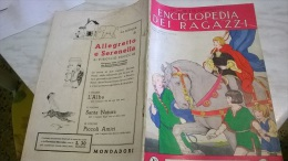 ENCICLOPEDIA DEI RAGAZZI N. 28 2/5/35 - Enciclopedie