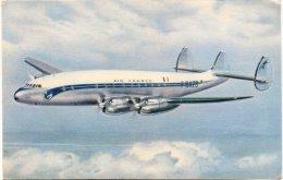 """L53-621 - Lockheed """"Constellation"""" Long Courrier Surnommé Le Favori De L'Atlantique Sur Air France - 1946-....: Modern Era"""
