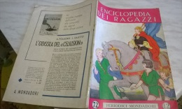 ENCICLOPEDIA DEI RAGAZZI N. 72 3/3/36 OLANDA/ RACCONTO ILLUSTRATO DA NICOULINE/ PAGANINI - Encyclopedieën