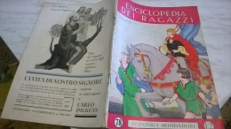 ENCICLOPEDIA DEI RAGAZZI N. 78 16/4/36 TERRE SCANDINAVE/ LA MADRE DI N. SAURO/ INNI DEL NOSTRO RISORGIMENTO - Enciclopedie