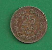 = ROMANIA - 25 BANI - 1955  # 226 = - Rumania