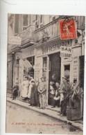 BORDEAUX: Tr�s Rare et Belle Carte de1910-Bar-Restaurant-Epicerie A. AUBERT,17-19 rue Margaux
