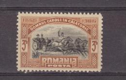 1906 - 40 Anniv. Du Gouvernement  De CHARLES I  Mi No 188 Et Y&T 173  MH - 1881-1918: Carol I.