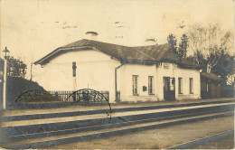 Estonie  : Eesti - Gare De Tamisalu - Carte Photo - Estonie