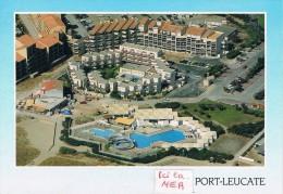 PORT-LEUCATE (Aude) - Vue Aérienne : Résidences Et Piscines - Circulé - Francia
