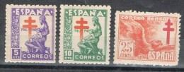 Serie Completa Pro Tuberculosos 1946, Edifil Num 1008  - 1010  **/* - 1931-50 Nuevos & Fijasellos