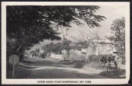 PHOTOCARD AROUND 1930 - GUANTANAMO BAY CENTER BARGO POINT U.S. BASES - Cuba